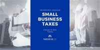 Small Business - Tax & Compliance Awareness Session