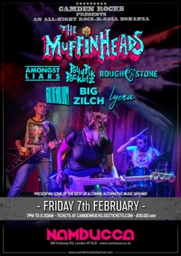 Camden Rocks All-Dayer w/ The Muffin Heads and more at nambucca
