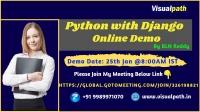 Python with Django Online  Demo