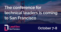 Lead Dev San Francisco 2020