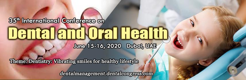 35th  International Conference on Dental and Oral Health, Dubai, United Arab Emirates