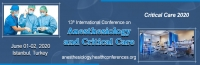 13th International Conferences on Anesthesiology and Critical Care