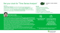"""Set your clock for """"Time Series Analysis"""""""