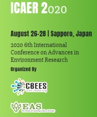 2020 6th International Conference on Advances in Environment Research (ICAER 2020)