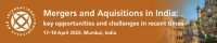 Mergers and Acquisitions in India: key opportunities and challenges in recent times