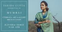 Farida Gupta Mumbai Exhibition (Cymroza Art Gallery)