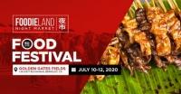 FoodieLand Night Market - SF Bay Area (July 10-12, 2020)