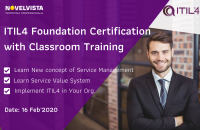ITIL 4 Foundation Training & Certification in Bangalore