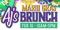 AJ's Mardi Gras Brunch
