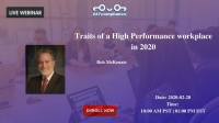 Traits of a High Performance workplace in 2020