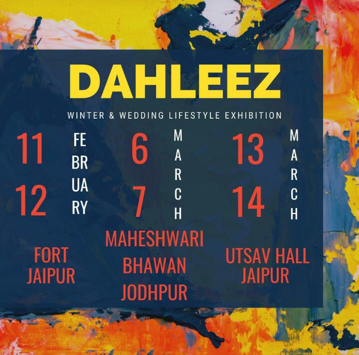 Dahleez Lifestyle Exhibition March Edition EventsGram india, Jaipur, Rajasthan, India