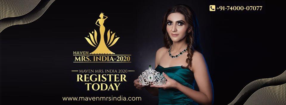 Maven Mrs India 2020 Auditions in Bangalore, Bangalore, Karnataka, India
