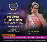 MISS/MRS INTERNATIONAL SINGAPORE | JUNE 2020