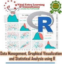 Data Management, Graphical Visualization and Statistical Analysis using R