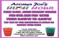 Aroma Joes Rush Hour Best Coffee Leominster
