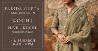Farida Gupta Kochi Exhibition