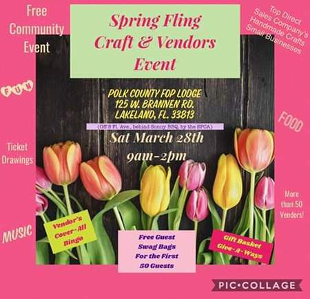 Spring Fling Craft and Vendor Event, Lakeland, Florida, United States
