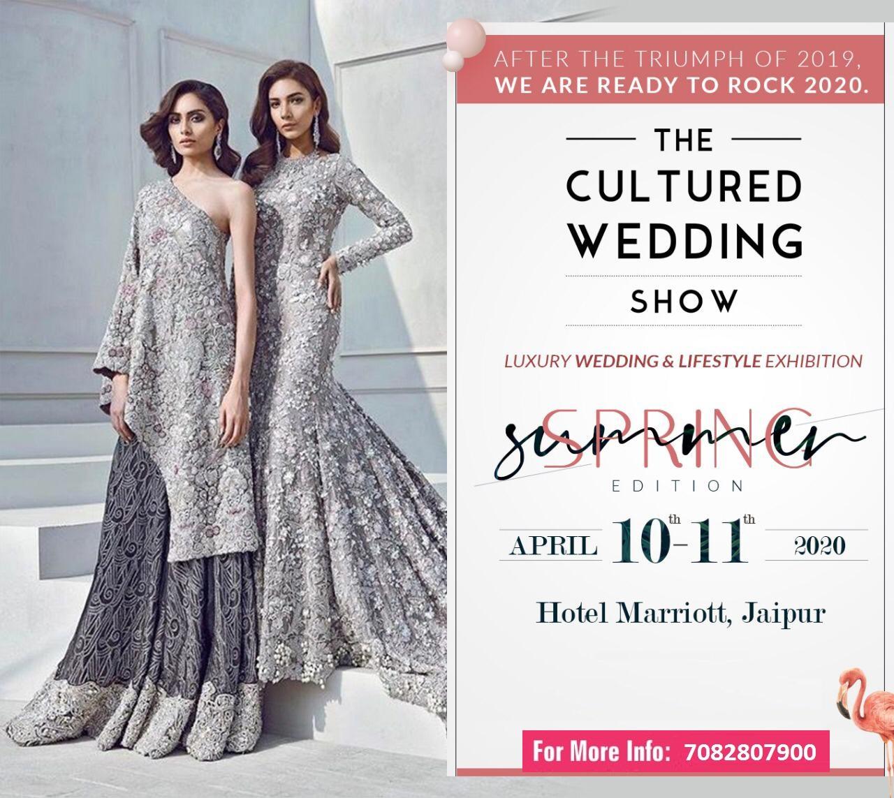 The Cultured Wedding Show EventsGram india, Jaipur, Rajasthan, India