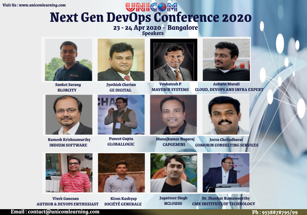 Next Gen DevOps Conference 2020 - Bangalore, Bangalore, Karnataka, India