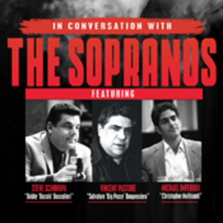 In conversation with The Sopranos, Southend-on-Sea, England, United Kingdom
