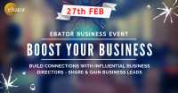 BOOST YOUR BUSINESS BY MEETING QUALIFIED BUSINESS DIRECTORS BY EBATOR