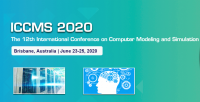 2020 The 12th International Conference on Computer Modeling and Simulation (ICCMS 2020)