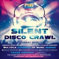 Silent Disco Walking Tour Bar Crawl Hoboken - April 2020