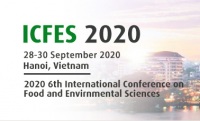 2020 6th International Conference on Food and Environmental Sciences (ICFES 2020)