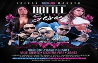 Friday Battle of the Sexes at Doha Nightclub NYC