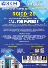 Research Conference on IoT, Cloud and Data Science