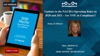 Updates to the NACHA Operating Rules in 2020 and 2021 - Are YOU in Compliance?
