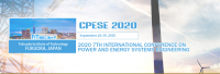 2020 7th International Conference on Power and Energy Systems Engineering (CPESE 2020)