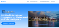 2020 2nd International Symposium on Big Data and Artificial Intelligence