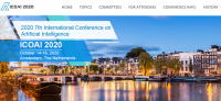 2020 7th International Conference on Artificial Intelligence (ICOAI 2020)