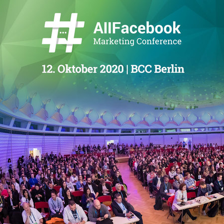 AllFacebook Marketing Conference - Berlin 2020, Berlin, Germany