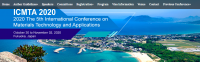 2020 The 5th International Conference on Materials Technology and Applications (ICMTA 2020)