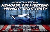 NYC Memorial Day Sunday Yacht Party Cruise at Skyport Marina