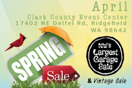 NW Largest Garage Sale, Ridgefield, Washington, United States