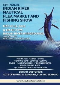 10th Annual Indian River Nautical Flea Market and Fishing ShowVero Beach, Florida…