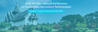 2020 6th International Conference on Sustainable Agriculture Technologies (ICSAT 2020)