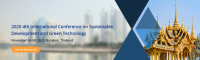 2020 4rd International Conference on Sustainable Development and Green Technology (SDGT 2020)