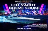 Manhattan LED Yacht Booze Cruise at Skyport Marina