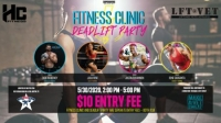 Fitness Clinic and Deadlift Party for Make a Vet Sweat Charity