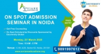 Join On Spot Admission Seminar in Noida