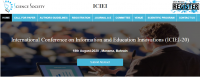 International Conference on Information and Education Innovations (ICIEI-20)