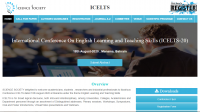 International Conference On English Learning and Teaching Skills (ICELTS-20)