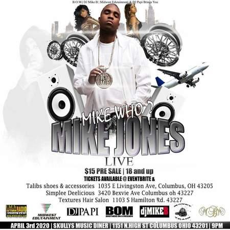Mike Jones Live Who ??? Mike Jones, Columbus, Ohio, United States