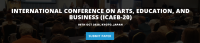 INTERNATIONAL CONFERENCE ON ARTS, EDUCATION, AND BUSINESS (ICAEB-20)