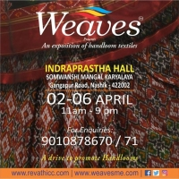 Weaves Handlooom Exhibitions
