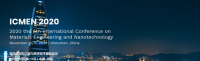 2020 The 5th Intl. Conf. on Materials Engineering and Nanotechnology (ICMEN 2020)